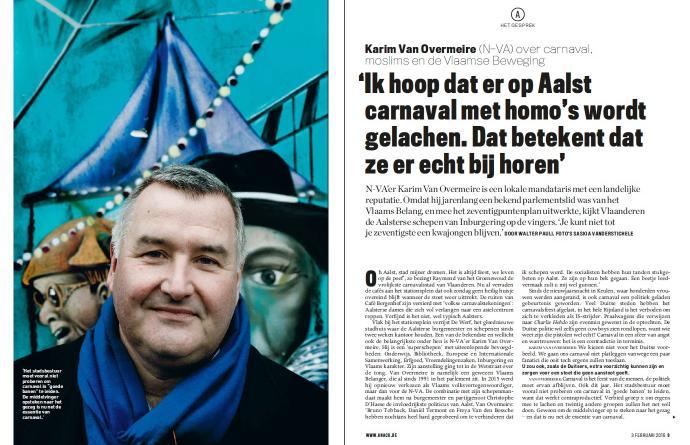 Interview Knack - Karim Van Overmeire